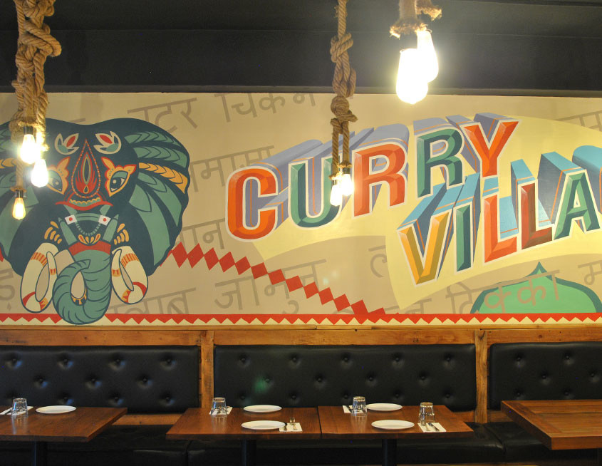 Curry Village Wollongong Commercial Restaurant Design